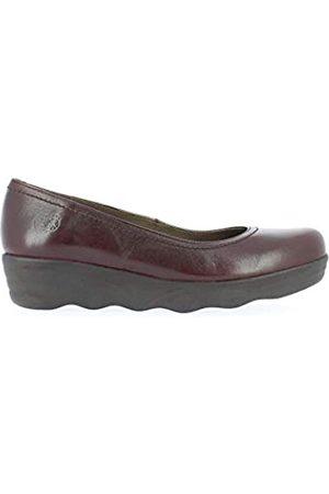 Yokono Mist, Zapatos de tacón con Punta Cerrada para Mujer, (Burdeos 005)