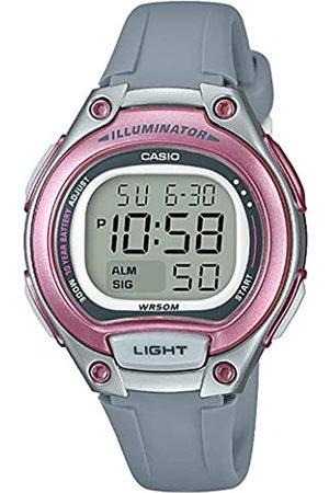 Casio Reloj Digital para Mujer de Cuarzo con Correa en Plástico LW-203-8AVEF