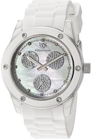 Daniel Wellington WN506-186B - Reloj analógico de Cuarzo para Mujer con Correa de Silicona