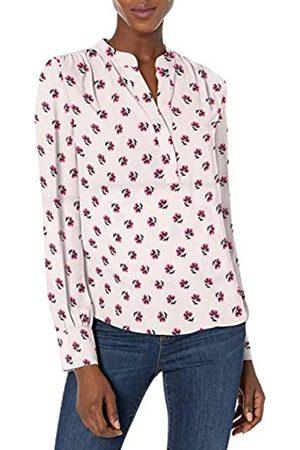 Lark & Ro Women's Shirred Band Collar Popover Dresses