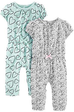 Simple Joys by Carter's Enteritos para bebés, paquete de 2