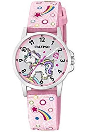Calypso Reloj Analógico para Unisex Niños de Cuarzo con Correa en Plástico K5776/5