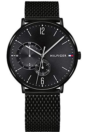 Tommy Hilfiger Reloj Multiesfera para Hombre de Cuarzo con Correa en Acero Inoxidable 1791507