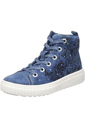 Lurchi NAZOU, Zapatillas Altas para Niñas, (Jeans 22)