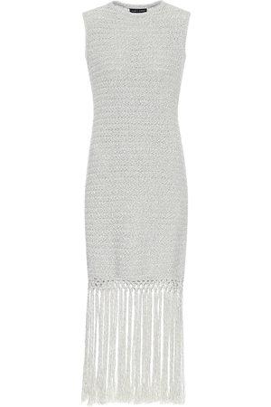 Alanui Exclusivo en Mytheresa - vestido corto en mezcla de algodón
