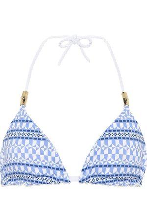 Heidi Klein Top de bikini Malta de triángulo