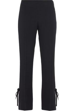 Prada Pantalones con lazadas laterales