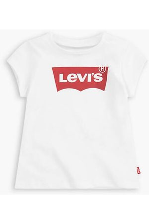 Levi's Short Sleeved Batwing Tee Kids / Red/White