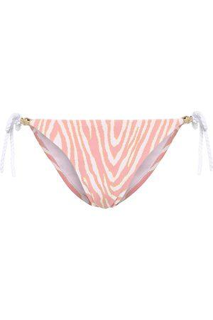 Heidi Klein Braga de bikini Cape Town estampada