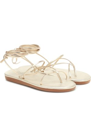 Ancient Greek Sandals Sandalias String de piel