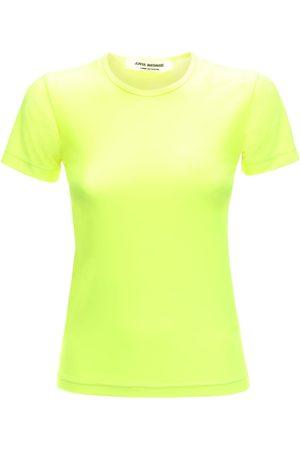 JUNYA WATANABE | Mujer Camiseta De Jersey De Nylon Stretch Ligera S