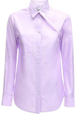 COPERNI   Mujer Camisa De Popelina De Algodón 34