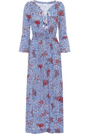 POUPETTE ST BARTH Exclusivo en Mytheresa – vestido midi Lucy estampado