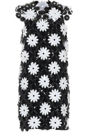 Paco rabanne Mujer Estampados - Vestido corto de PVC floral