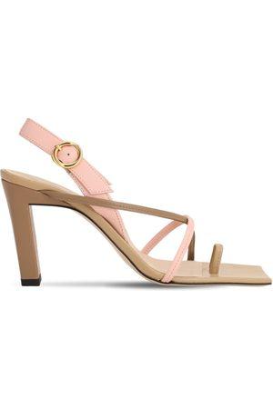 Wandler | Mujer Sandalias De Piel Con Anillo 85mm /rosa 40