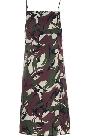 Kwaidan Editions Slip dress de camuflaje