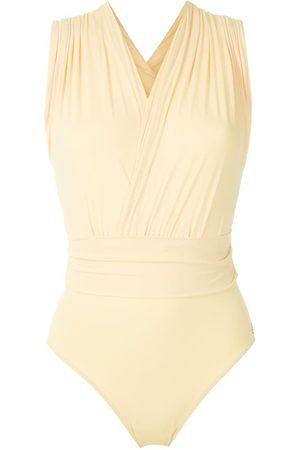 Brigitte Mujer Bañadores - Bañador Talita con cuello en V