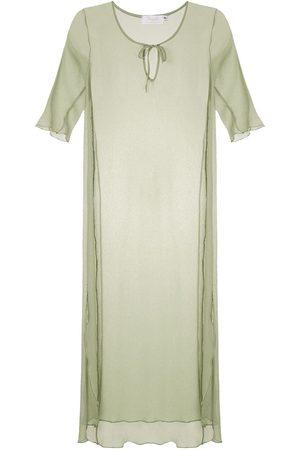 Brigitte Vestido playero de seda