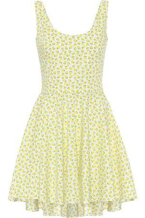 Caroline Constas Exclusivo en Mytheresa – vestido corto Kylie de algodón estampado
