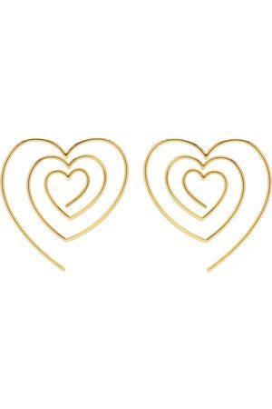 Y / PROJECT Aretes en forma de corazón
