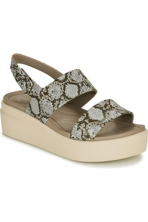 Crocs Sandalias BROOKLYN LOW WEDGE W para mujer