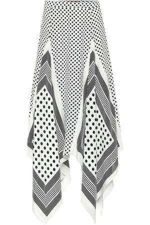 Altuzarra Mujer Estampadas - Falda midi Boom de seda estampada