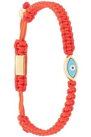 Nialaya Jewelry Pulsera con ojo turco con cuerda