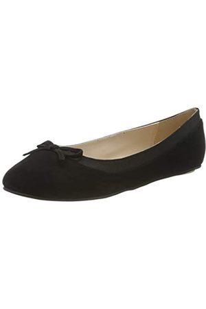Buffalo Annelie, Bailarinas para Mujer, (Black 001)