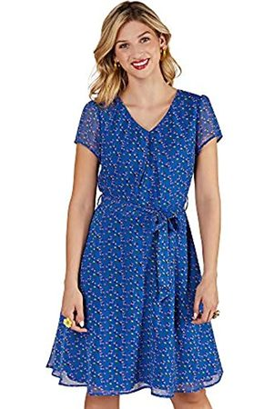 Yumi Ditsy Print Skater Dress Vestido Informal