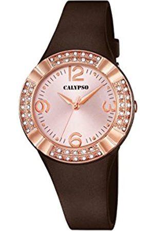 Calypso – Reloj de Cuarzo para Mujer con Esfera Analógica Pantalla y Correa de plástico de Color K5659/3
