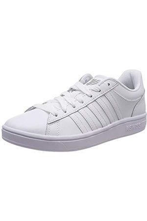 K-Swiss Court Winston, Zapatillas para Mujer, (White/White/White 154)