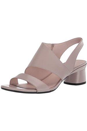 Ecco ELEVATE45BLOCKSANDAL, Zapatos de Tacón para Mujer, (Grey Rose 1386)