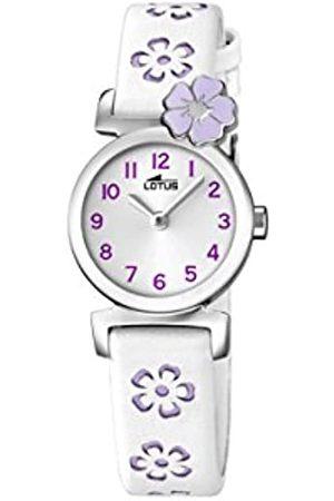 Lotus Reloj Análogo clásico para niñas de Cuarzo con Correa en Cuero 18174/3