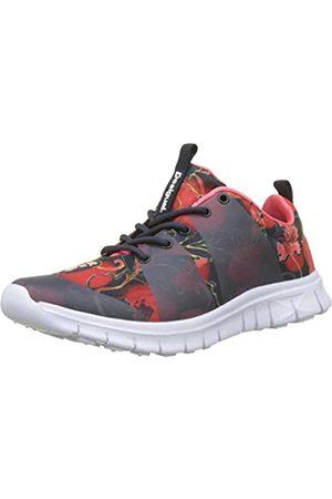 Desigual Sneaker Rubber Print Scarlet, Zapatillas para Mujer, (Peacoat 5189)