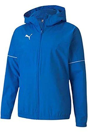 Puma Teamgoal Rain Jacket Core Chaqueta Impermeable, Hombre, Electric Blue Lemonade White