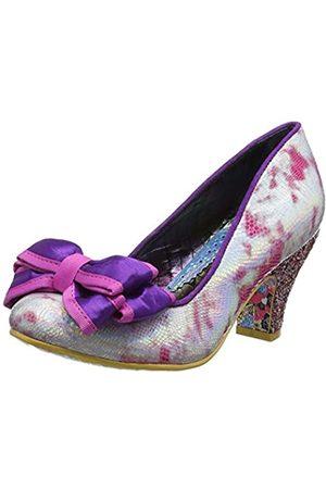 Irregular Choice Ban Joe, Zapatos de tacón con Punta Cerrada para Mujer, (Pink Multi AC)