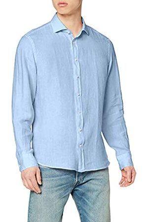 Hackett London Hackett Garment Dye LN KS Camisa de Oficina L para Hombre