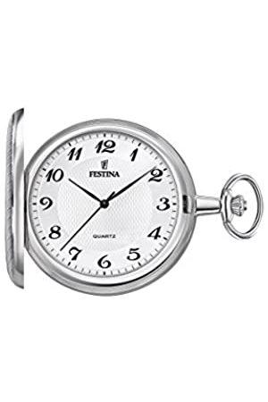 Festina Reloj Análogo clásico para Unisex de Cuarzo con Correa en Acero Inoxidable F2024/1