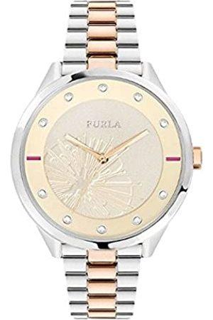 Furla Reloj Analógico para Mujer de Cuarzo con Correa en Acero Inoxidable R4253102520