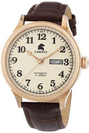 Carucci Watches CA2209RG - Reloj de Pulsera Hombre, Piel