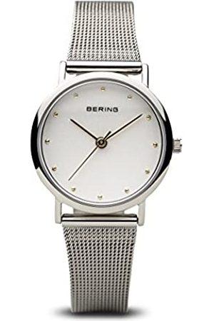 Bering Reloj Analógico para Mujer de Cuarzo con Correa en Acero Inoxidable 13426-001
