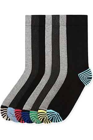 FIND Marca Amazon - Calcetines Hombre, Pack de 7, 39-43.5 EU