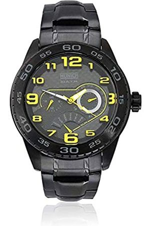Munich Reloj Analógico-Digital para Unisex Adultos de Cuarzo con Correa en Acero Inoxidable MU+140.1B