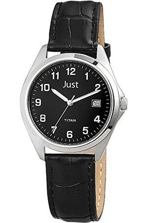 Just Watches 48-S11008-BK - Reloj de Pulsera Hombre, Piel