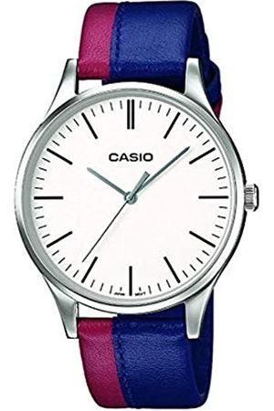 Casio Reloj Analógico para Hombre de Cuarzo con Correa en Cuero MTP-E133L-2EEF