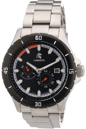Carucci Watches CA2187ST-OR - Reloj analógico automático para Hombre, Correa de Acero Inoxidable Color (Agujas luminiscentes