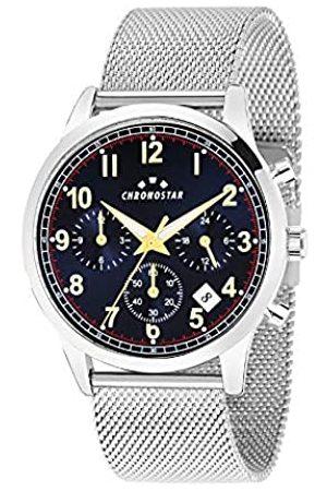 Chronostar RelojMultiesferaparaHombredeCuarzoconCorreaenAceroInoxidableR3753269003