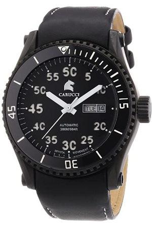 Carucci Watches Tarent CA2196BK-WH - Reloj analógico automático para Hombre