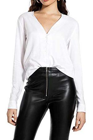 Ivy Revel DE Button Up Shirt Blusa