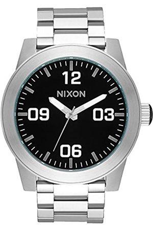 Nixon Reloj Analógico para Hombre de Cuarzo con Correa en Acero Inoxidable A346-000-00